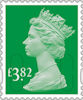 Machin Definitive 2020 £3.82 Stamp (2020) Holly Green