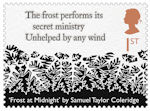 The Romantic Poets 1st Stamp (2020) Frost at Midnight by Samuel Taylor Coleridge