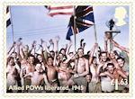 End of the Second World War £1.63 Stamp (2020) Allied POWs liberated, 1945