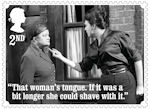 Coronation Street 2nd Stamp (2020) Ena Sharples and Elsie Tanner
