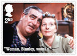 Coronation Street 2nd Stamp (2020) Stan and Hilda Ogden