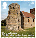 Roman Britain 2nd Stamp (2020) Dover Lighthouse