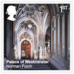 The Palace of Westminster 1st Stamp (2020) Norman Porch