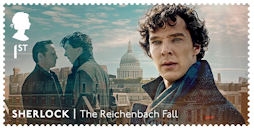 Sherlock  1st Stamp (2020) The Reichenbach Fall
