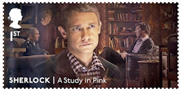 Sherlock  1st Stamp (2020) A Study in Pink