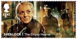 Sherlock  £1.42 Stamp (2020) The Empty Hearse