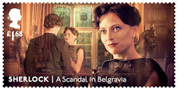 Sherlock  £1.68 Stamp (2020) A Scandal in Belgravia