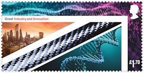 United Kingdom : A Celebration £1.70 Stamp (2021) Great Industry and Innovation