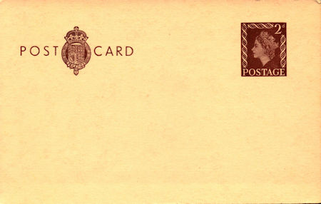 GB Postal Stationery from Collect GB Stamps