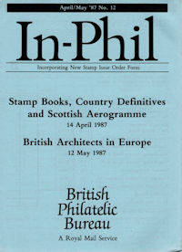 Stamp Books, Country Definitives, Scottish Aerogramme, British Architects in Europe