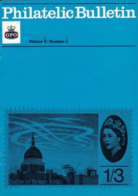 British Philatelic Bulletin Volume 3 Issue 1