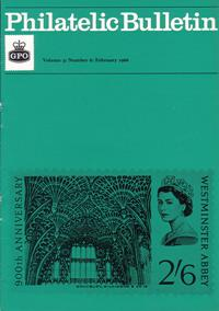 British Philatelic Bulletin Volume 3 Issue 6