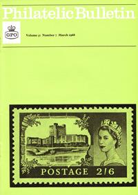 British Philatelic Bulletin Volume 5 Issue 7