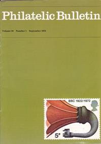 British Philatelic Bulletin Volume 10 Issue 1
