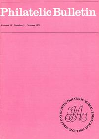 British Philatelic Bulletin Volume 13 Issue 2
