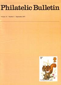British Philatelic Bulletin Volume 15 Issue 1