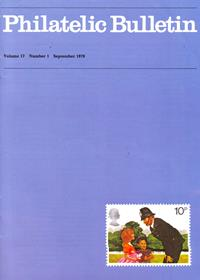 British Philatelic Bulletin Volume 17 Issue 1