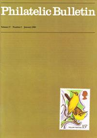 British Philatelic Bulletin Volume 17 Issue 5