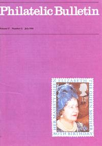 British Philatelic Bulletin Volume 17 Issue 11