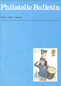 British Philatelic Bulletin Volume 19 Issue 7