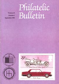 British Philatelic Bulletin Volume 20 Issue 1
