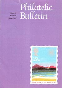 British Philatelic Bulletin Volume 20 Issue 6