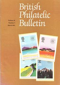 British Philatelic Bulletin Volume 20 Issue 7