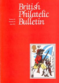 British Philatelic Bulletin Volume 20 Issue 10