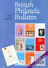 British Philatelic Bulletin Volume 21 Issue 1