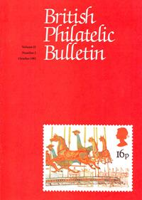 British Philatelic Bulletin Volume 21 Issue 2