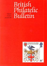 British Philatelic Bulletin Volume 21 Issue 4