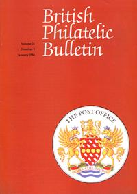 British Philatelic Bulletin Volume 21 Issue 5