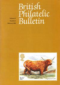 British Philatelic Bulletin Volume 21 Issue 6