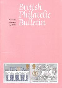 British Philatelic Bulletin Volume 21 Issue 8