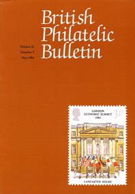 British Philatelic Bulletin Volume 21 Issue 9