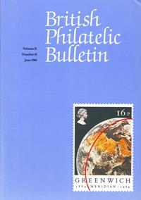 British Philatelic Bulletin Volume 21 Issue 10