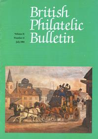 British Philatelic Bulletin Volume 21 Issue 11