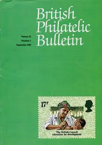 British Philatelic Bulletin Volume 22 Issue 1