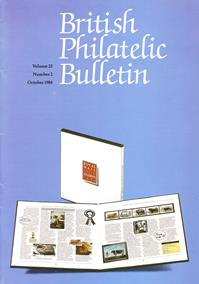 British Philatelic Bulletin Volume 22 Issue 2