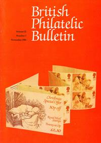British Philatelic Bulletin Volume 22 Issue 3
