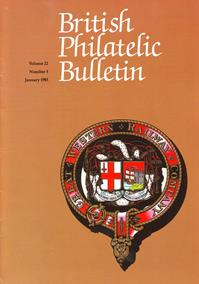 British Philatelic Bulletin Volume 22 Issue 5
