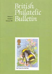British Philatelic Bulletin Volume 22 Issue 6