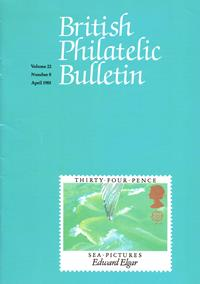 British Philatelic Bulletin Volume 22 Issue 8