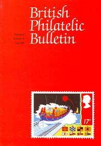 British Philatelic Bulletin Volume 22 Issue 10