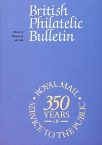 British Philatelic Bulletin Volume 22 Issue 11