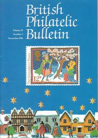 British Philatelic Bulletin Volume 24 Issue 3