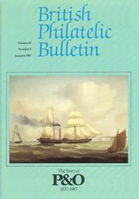 British Philatelic Bulletin Volume 24 Issue 5