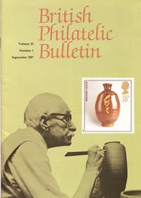 British Philatelic Bulletin Volume 25 Issue 1