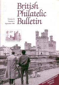 British Philatelic Bulletin Volume 26 Issue 1