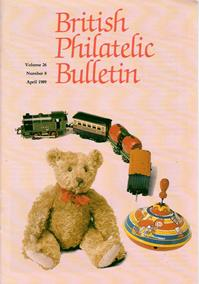 British Philatelic Bulletin Volume 26 Issue 8